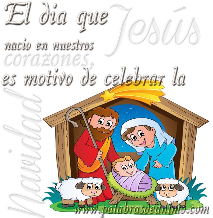 JESÚS nació en nuestros corazones, es motivo de celebrar la NAVIDAD ...