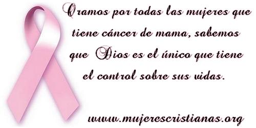 Oración por las mujeres con cáncer de mama