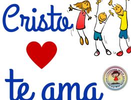 Cristo ama a los Niños #imagenescristianas