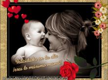 Eres lo máximo mamá