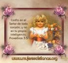 Confía en el Señor de todo corazón