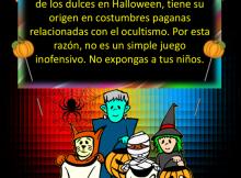 No expongas a tus hijos en Halloween