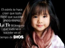 La fe te asegura que to va a suceder en el tiempo de Dios